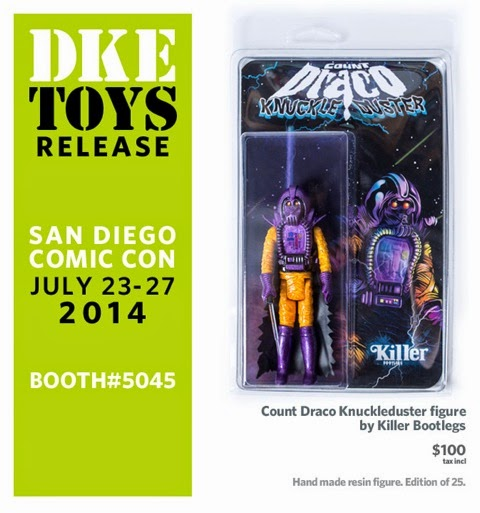 San Diego Comic-Con 2014 Exclusive Count Draco Knuckleduster Bootleg Resin Figure by Killer Bootlegs