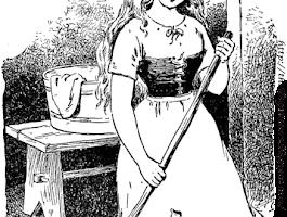 Cinderella Step Mom Coloring Page
