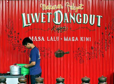 Warung Dangdut - Kuliner Dari Bandung Yang Unik
