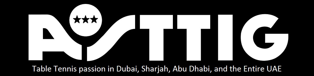 Table Tennis in Dubai, Sharjah, Abu Dhabi and the entire UAE