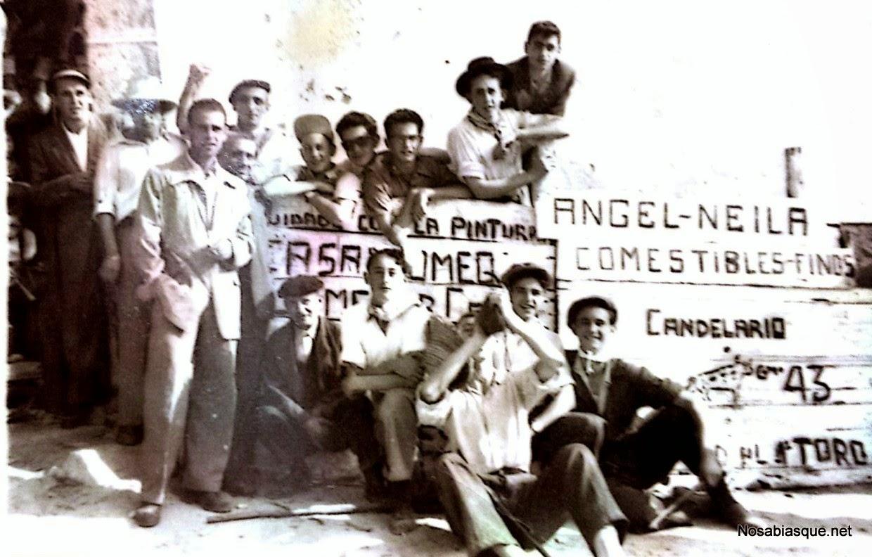 Publicidad candelario Salamanca años 50