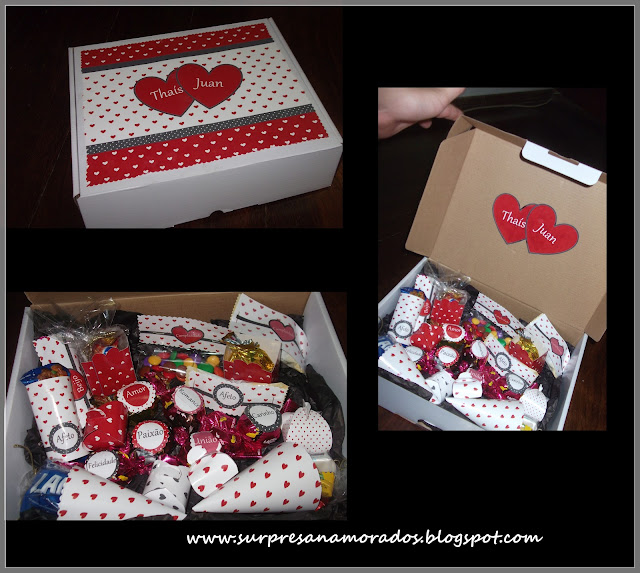 caixa de bombons personalizada