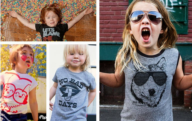 Cool kids tees and sweatshirts made in the US by Prefresh