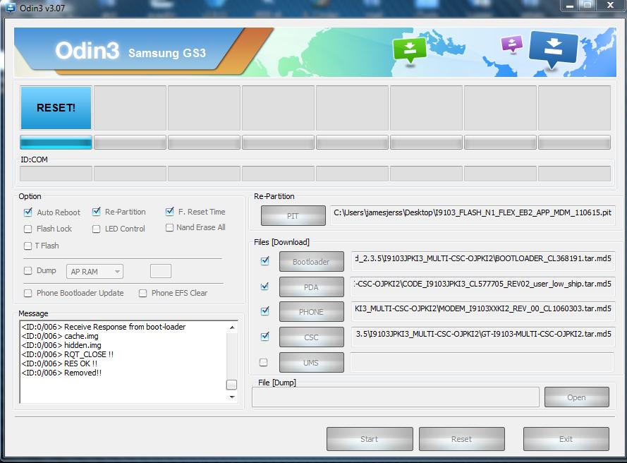 Service HP Hardware Software
