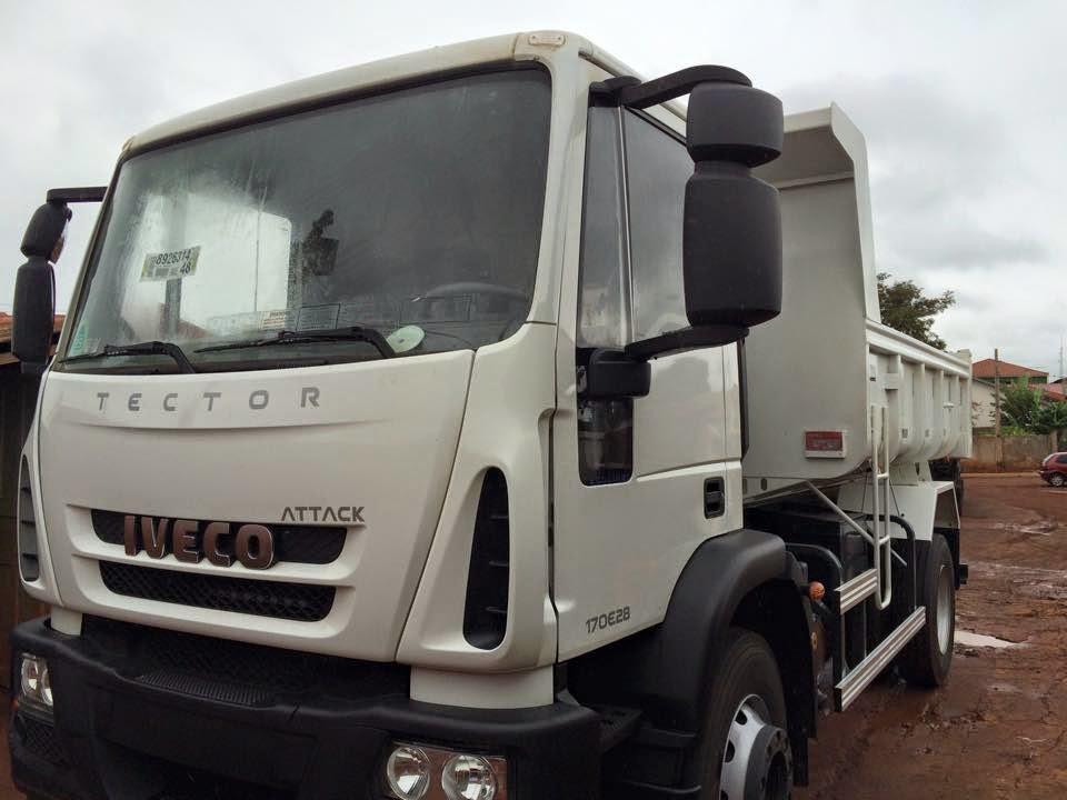 Nova América da Colina recebe caminhão Okm