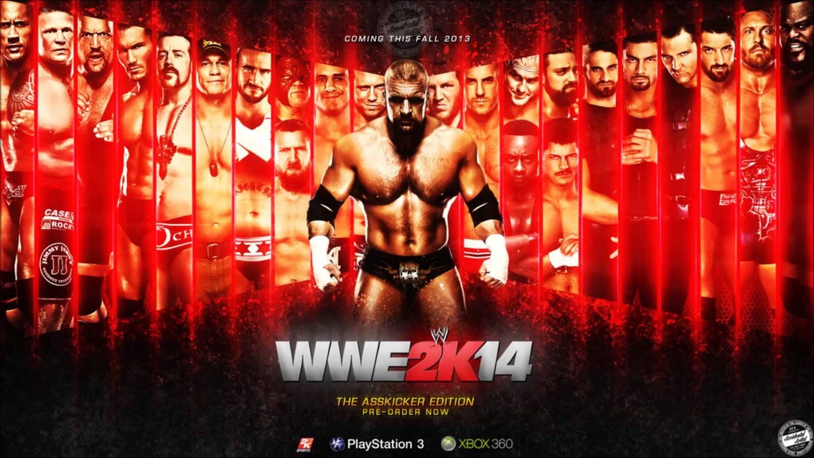 WWE 2K14  Cover  gameplay trailers and roster informationXbox One Wwe 2k14