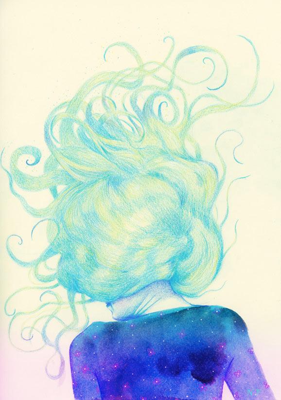 nuncalosabre.Ilustración. Illustration - Natalie Foss