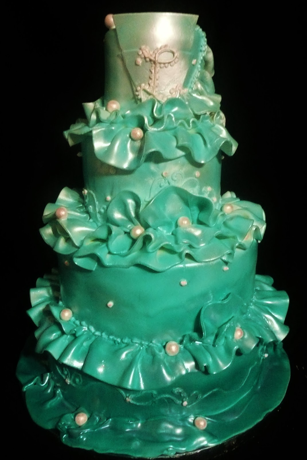 Cake Art By Des : Baking with Roxana s Cakes: Art Deco Inspiration Birthday Cake
