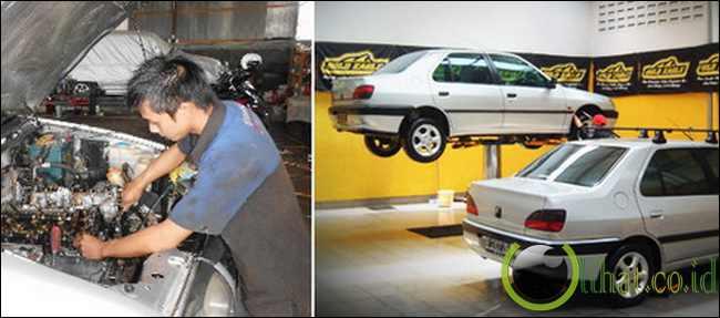 Malas Service dan Cuci Kendaraan