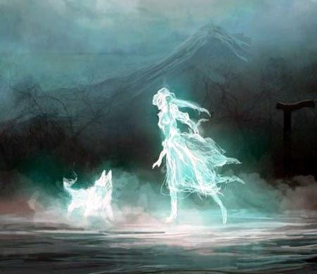 призрак, полтергейст