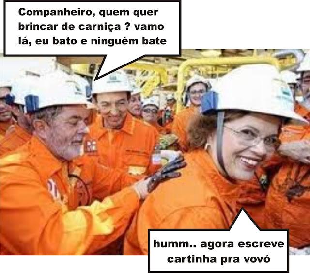 Presidente Dilma e Lula discutindo o futuro do país