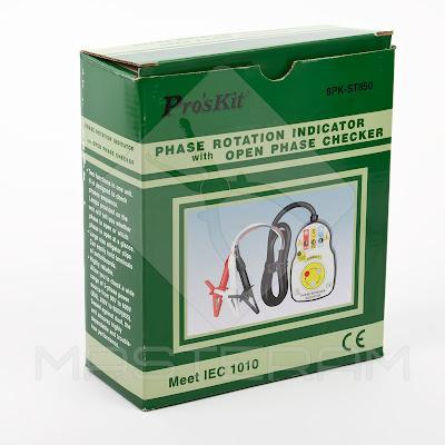 Упаковка индикатора чередования последовательности фаз Pro'sKit 8PK-ST850
