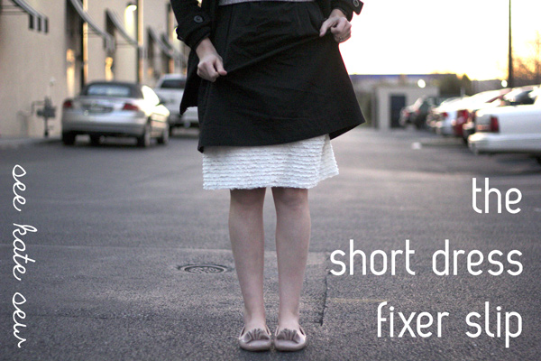 how to make short dress look longer