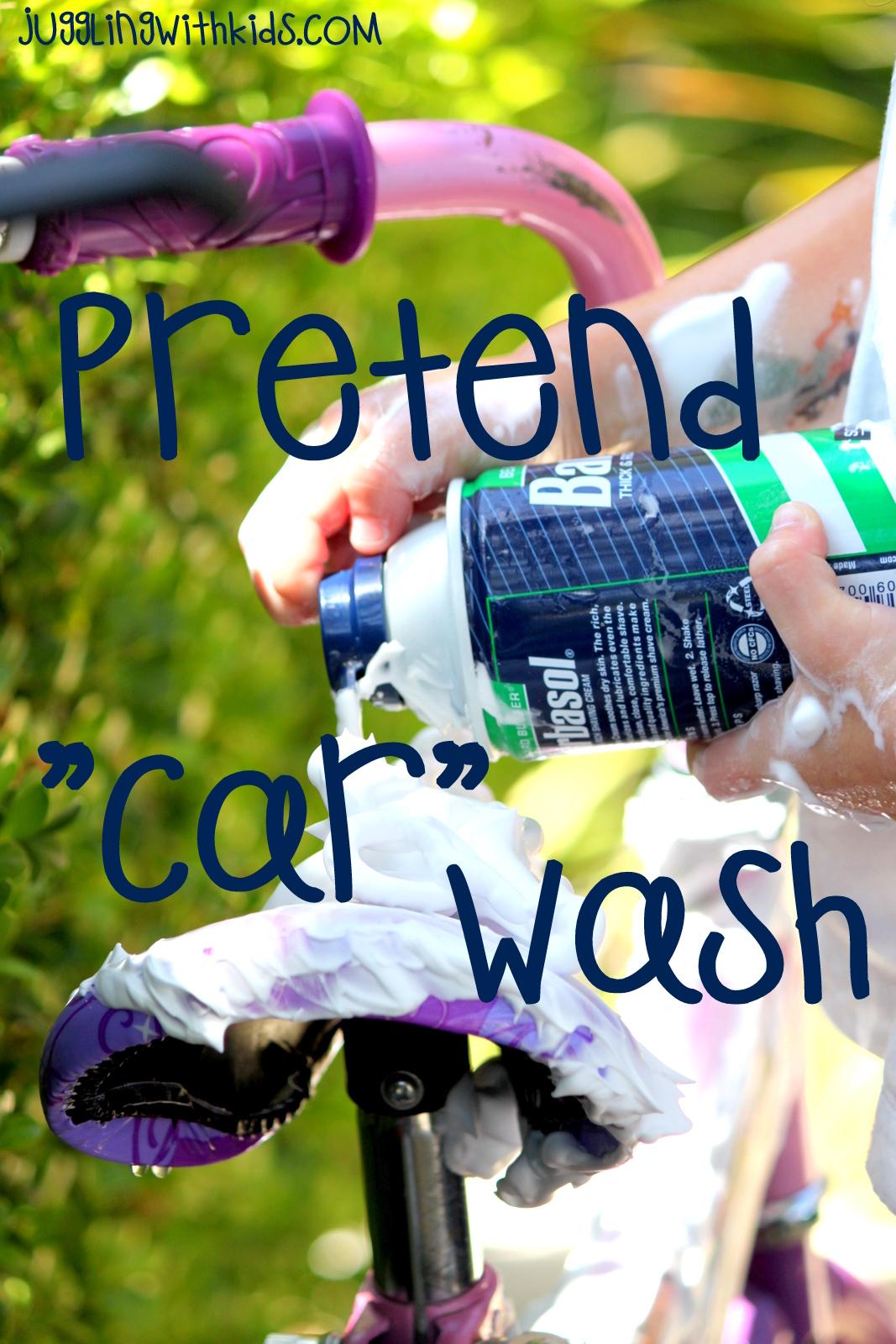 pretend car wash