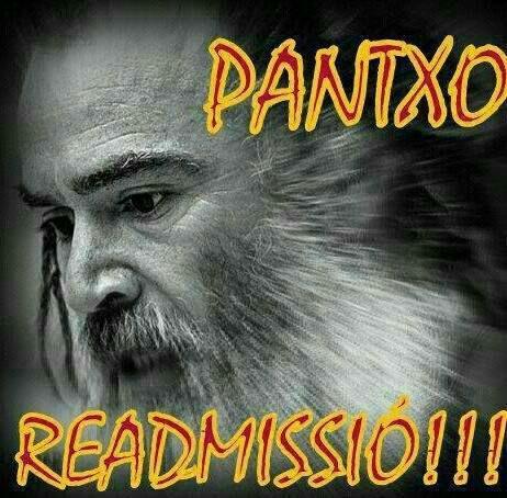 PANTXO READMISSIÓ!!!