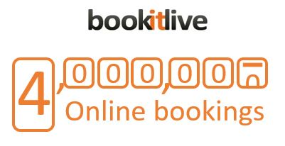 4000000 online bookings & payments
