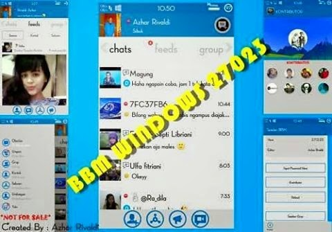 Download BBM Mod Windows Phone v2.7.0.23 Apk