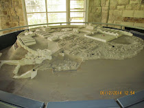 Model of Megiddo, the prophesied site of Armeggeddon (Israel)