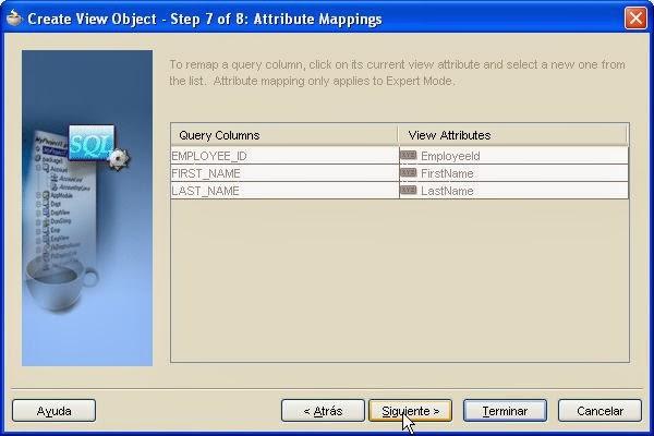 mapeo de atributos