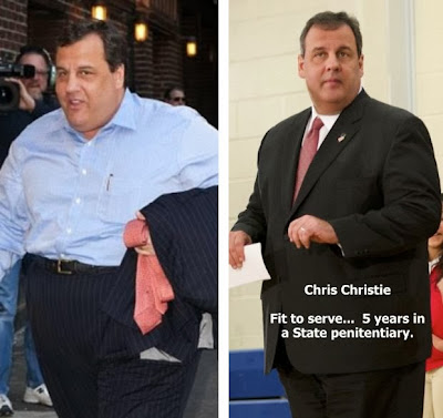 Chris Christie lap-band surgery failure funny