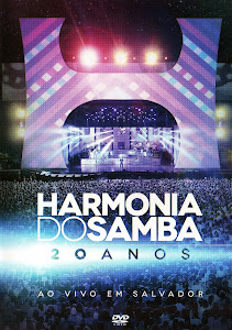capa Download   Harmonia do Samba   20 Anos: Ao Vivo em Salvador   DVDRip AVI e RMVB (2014)