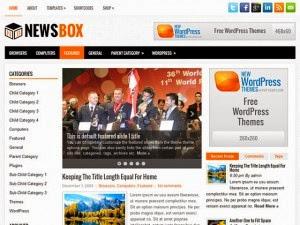 NewsBox - Free Wordpress Theme