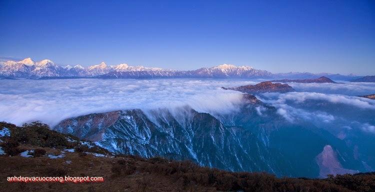 Mùa đông ở dãy núi Himalaya 11