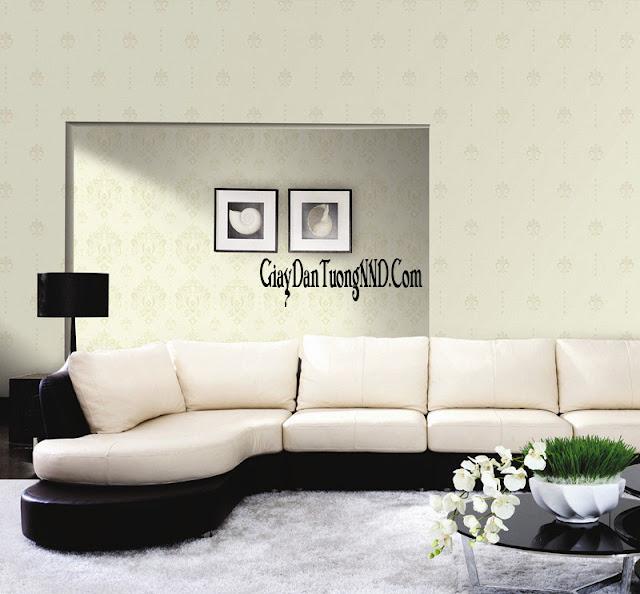Cách lựa chọn giấy dán tường phòng khách phù hợp