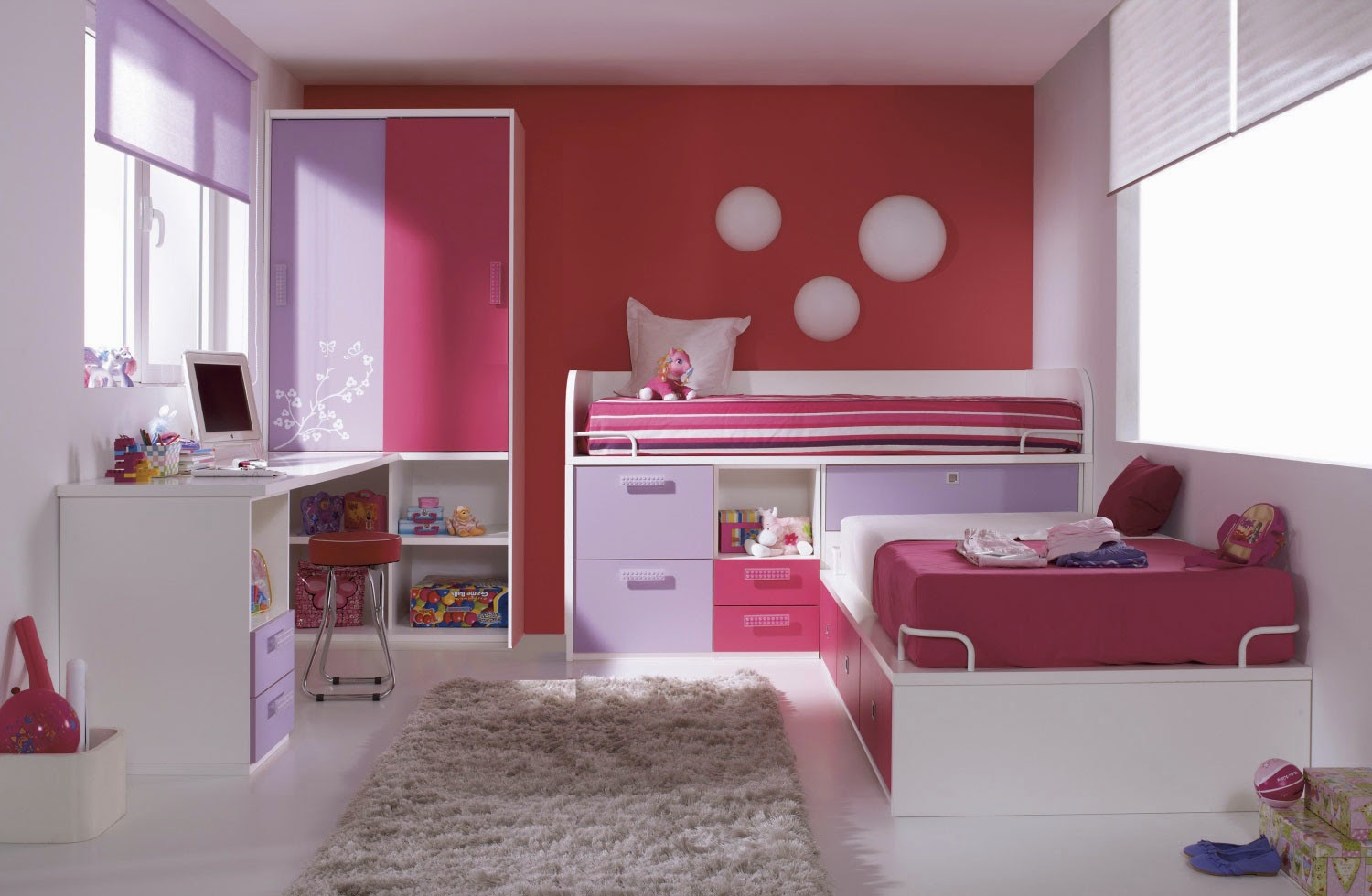 Room-Bedroom-Minimalist-Child-Beautiful-Furniture-Children