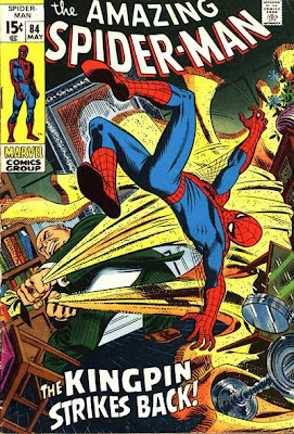 Amazing Spider-Man #84, The Kingpin and the Schemer