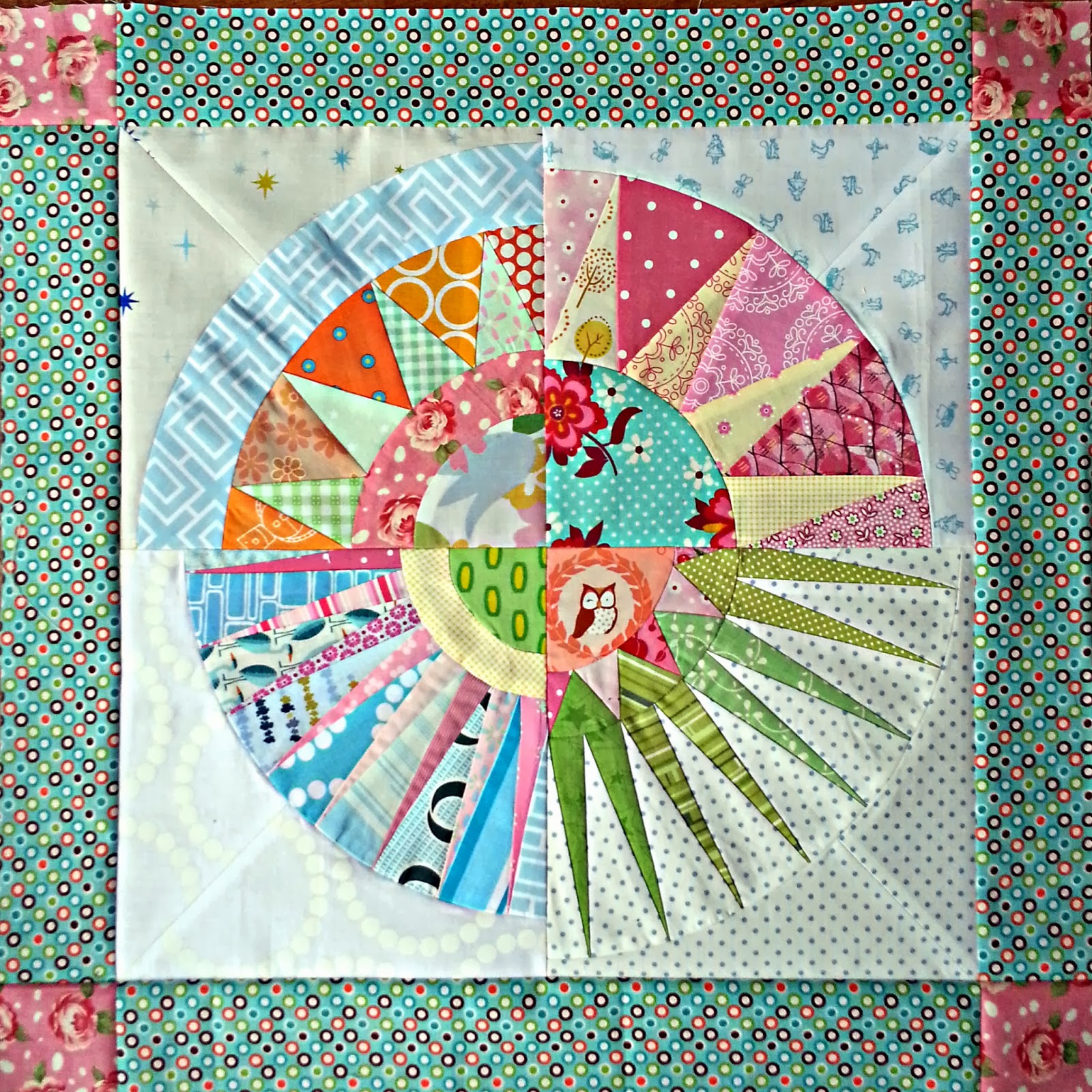 Fluffy Sheep Quilting: Tips and Tricks for Assembling a New York ... : new york beauty quilt patterns - Adamdwight.com