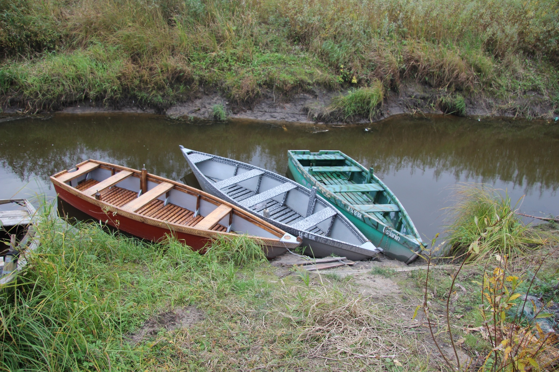 Мои лодки у берега