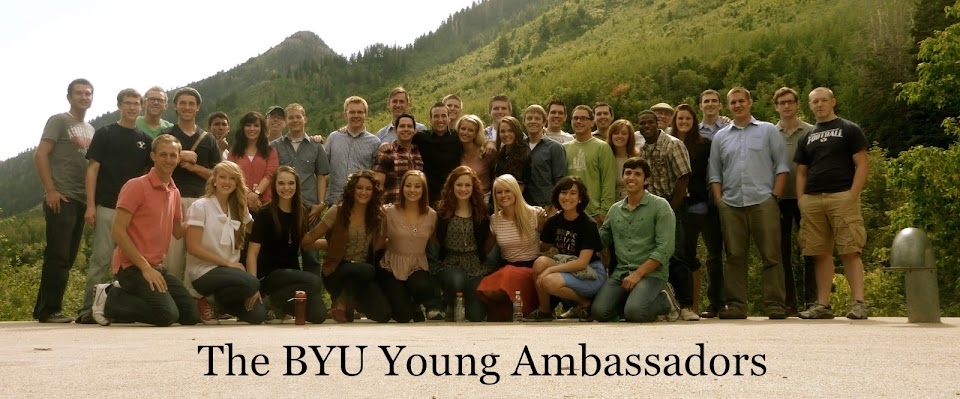 The BYU Young Ambassadors