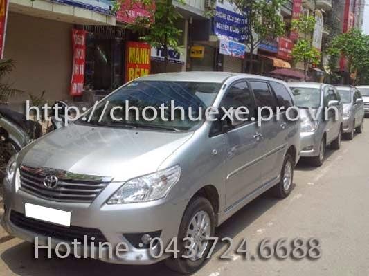 Cho thuê xe ô tô 7 chỗ theo tháng dài hạn tại Hà Nội 2