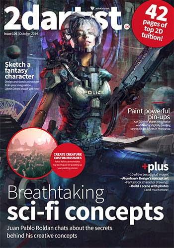 2D Artist Magazine Issue 106 October 2014