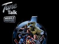 Koleksi Terbaik Simkad Tunetalks SuperHero The Avengers Limited Edition