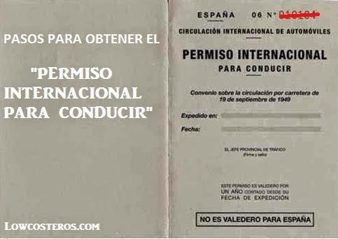 Modelo de la carrocer a validez permiso conducir internacional espana - Alquiler pisos en terrassa particulares ...