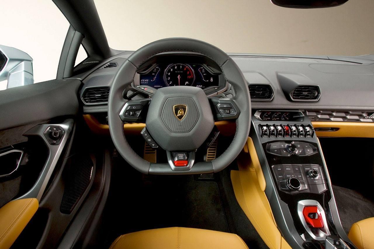 lamborghini huracan fotos do interior em detalhes car blog br. Black Bedroom Furniture Sets. Home Design Ideas