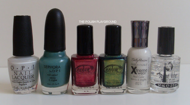 OPI, Sephora by OPI, Color Club, Sally Hansen, Seche Vite