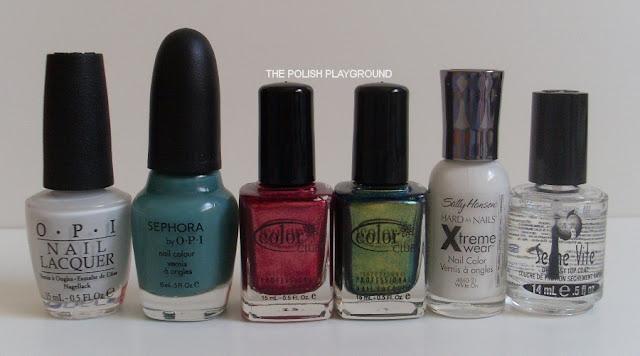 OPI, Sephora by OPI, Color Club, Sally Hansen, Seche Vite