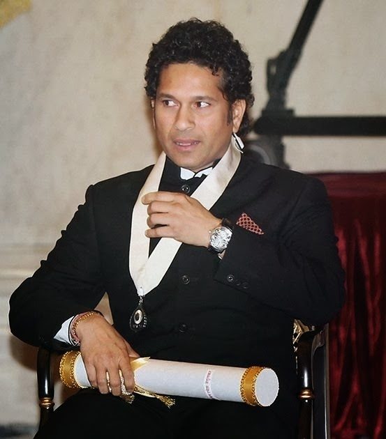 Tendulkar was conferred with the country's highest civilian honour  - Bharat Ratna