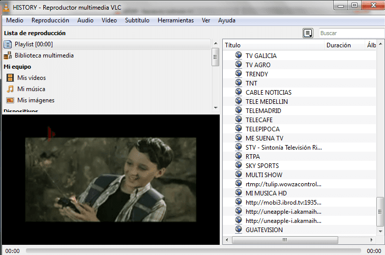 ver tv online hd VLC reproductor multimedia