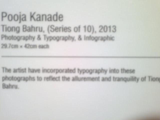Pooja Kanade, Tiong Bahru, en route, NAFA, Diploma in Art (Teaching) Graduation Show, Singapore, 2013, Bencoleen Street 80