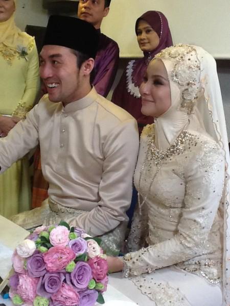 . Tahniah diucapkan kepada Khairul Fahmi Che Mat dan Liuniey Natasha