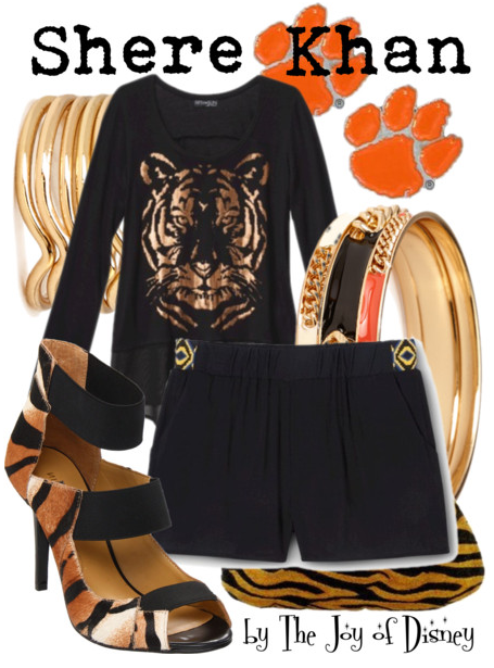 The Jungle Book, Shere Khan, Disney Fashion
