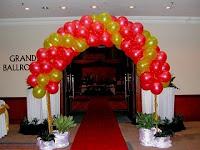 dekorasi balon peresmian
