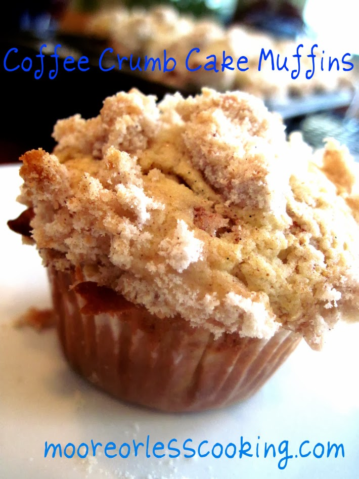 coffee crumb cake muffins from moore or less cooking blog