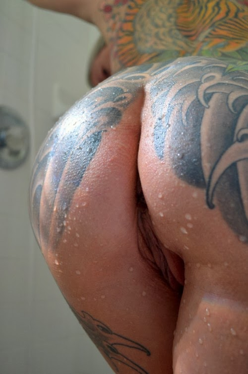 Nude sex with tattoos the
