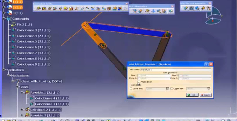 The Assembly Part Catia V5 Software For Simulation