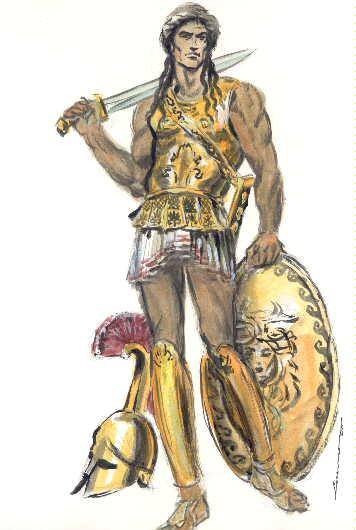 La mitolog a griega personajes famosos for En la mitologia griega la reina de las amazonas
